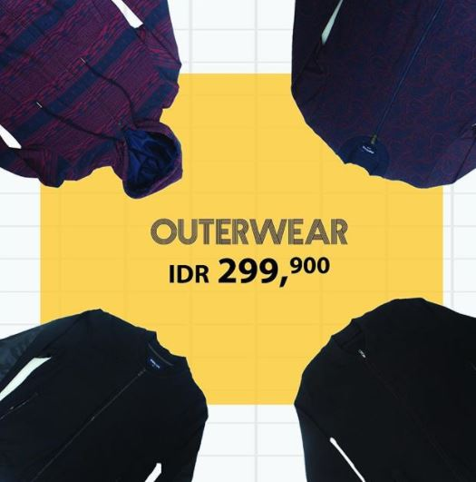 Outerwear Promo Only Rp 299.900 in Manzone