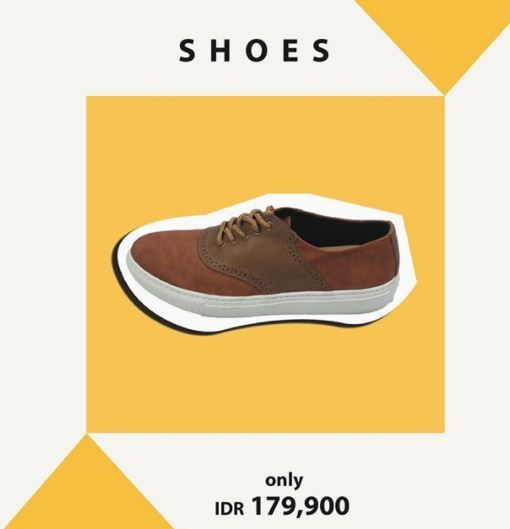 Promo Shoes Rp 179.900 in Manzone