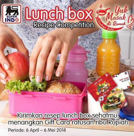 Recipe Competition at Super Indo
