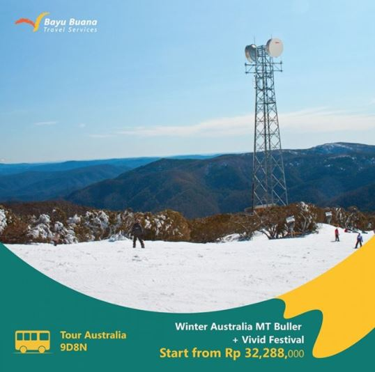 Winter Australia MT Buller + Vivid Festival Package Promotion at Bayu Buana
