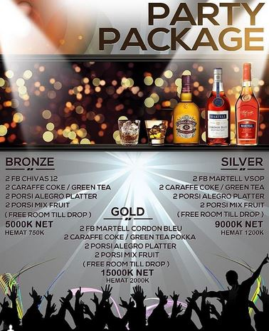 Party Package at Alegro FKTV