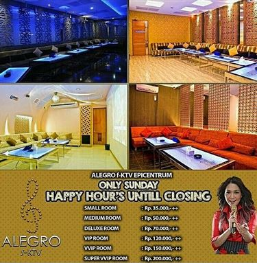 Happy Hour's Promotion at Alegro FKTV
