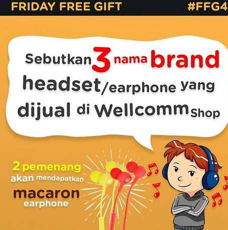 Friday Free Gift 4 at Wellcomm Shop