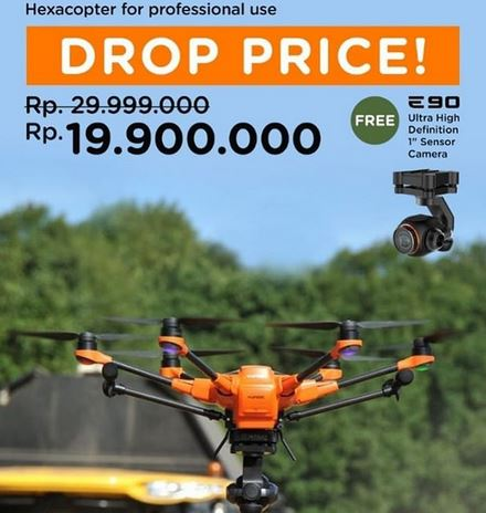 Yunec H520 Hexacopter Promotion at Wellcomm Shop