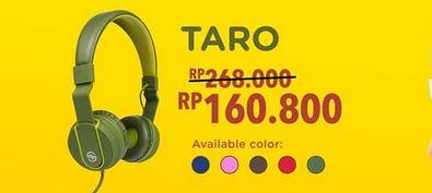 Taro Promotion at Wellcomm Shop