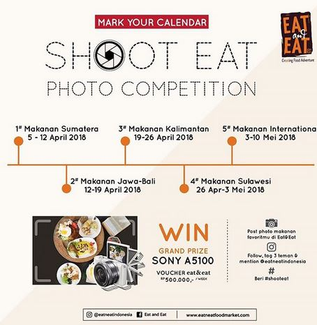 Shoot Eat Photo Competition at Eat & Eat