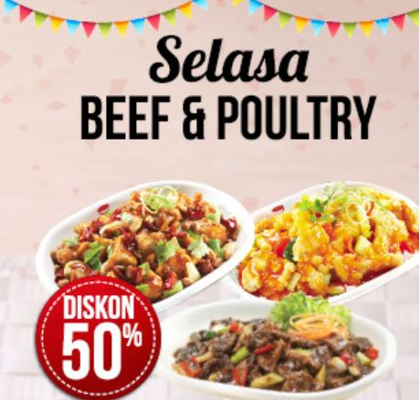 Promo  Beef & Poultry at Rice Bowl
