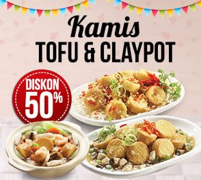 Tofu & Claypot Promotion at Rice Bowl</h3>