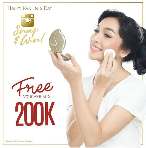 Free Voucher Rp 200.000 from Martha Tilaar