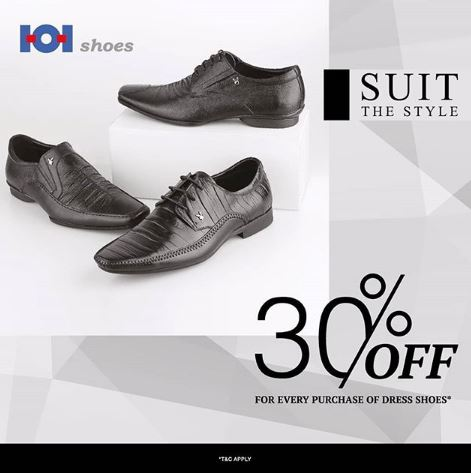 Discount 30% from 101Shoes