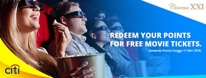 Redeem Point at Cinema XXI</h3>
