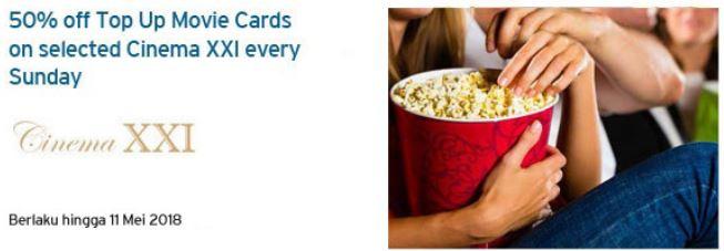 Discount 50% at Cinema XXI</h3>