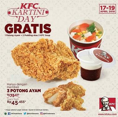 Promo Kartini's Day from KFC