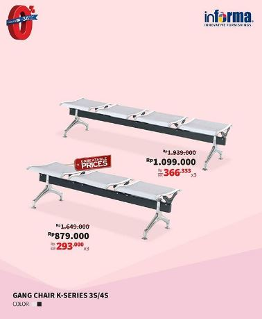 Special Price Gang Chair K-Series from Informa