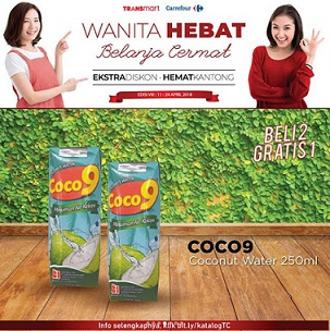 Buy 2 Get 1 Free Coco9 at Transmart Carrefour</h3>