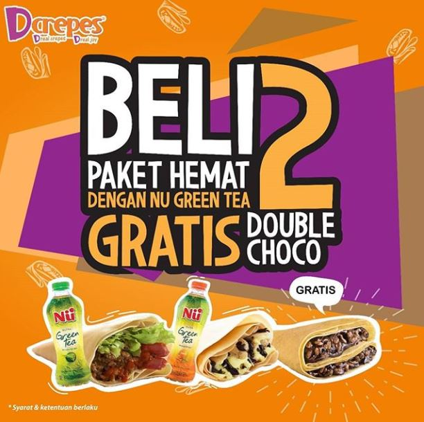 Buy 2 Get 1 Free from D'Crepes</h3>