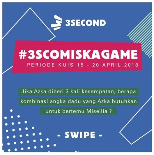 Game Event # 3SCOMiskaGame in 3 Second