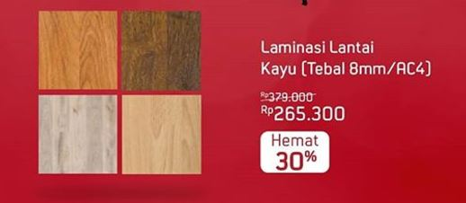 Save 30% Wooden Laminate from Ace Hardware