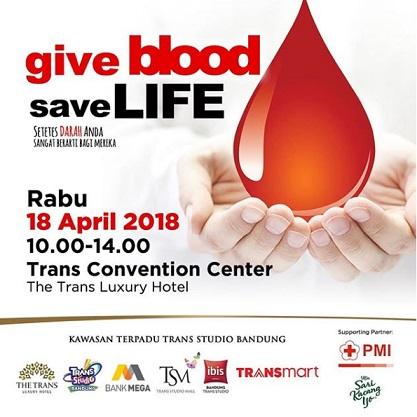 Blood Donation Event at Trans Studio Mall Bandung