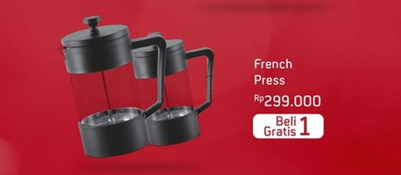 Buy 1 Free 1 French Press from Ace Hardware</h3>