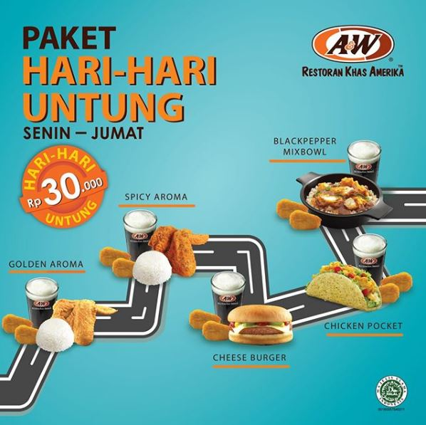Happy Days Day Packages at A & W