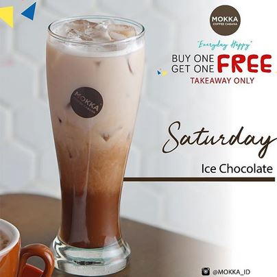 Ice Chocolate Promotion at Mokka Coffee Cabana</h3>
