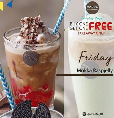 Mokka Raspjelly Promotion at Mokka Coffee Cabana