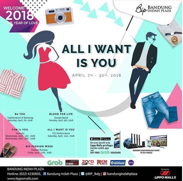 Fashion Week in Bandung Indah Plaza