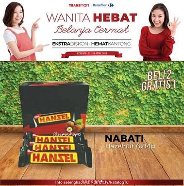 Buy 2 Get 1 Free Nabati Hazelnut at Transmart Carrefour</h3>