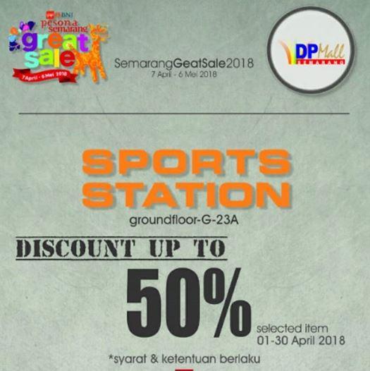 Diskon Hingga 50% dari Sports Station di DP Mall Semarang - Gotomalls 91bcd62e8b