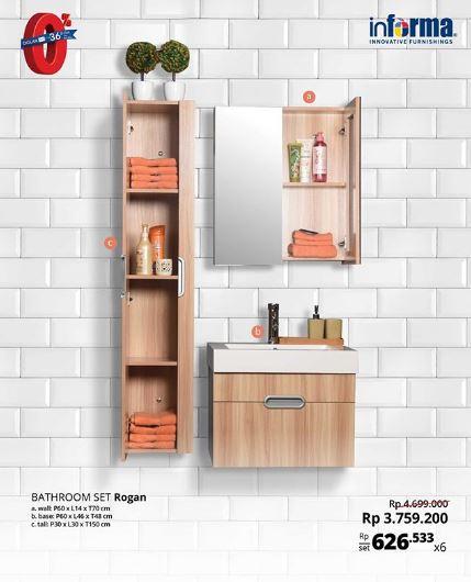 Special Price Bathroom Set Rogan from Informa
