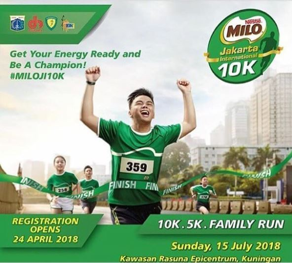 Milo Run at Epiwalk