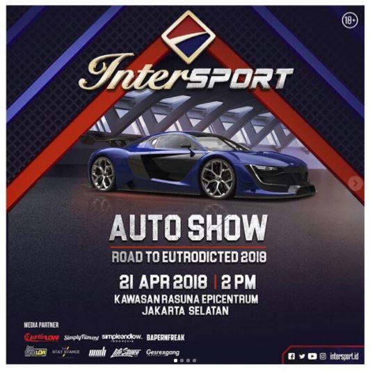 Auto Show di Epiwalk Mall