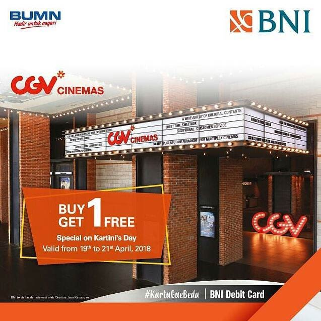 Buy 1 Get 1 Free from CGV
