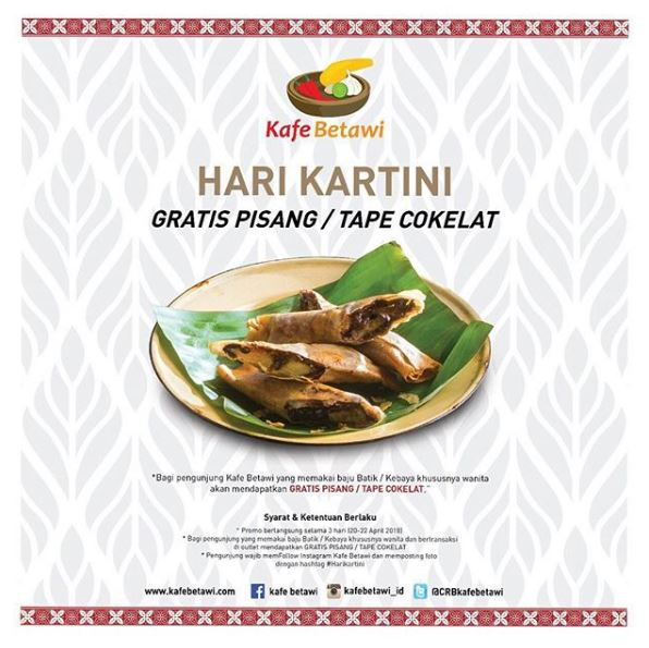 Kartini Day at Kafe Betawi