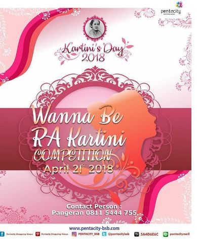 Wanna Be RA Kartini Competition at Pentacity Mall