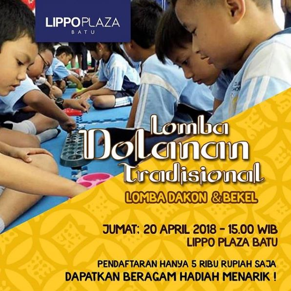 Traditional Dolanan Contest (Dakon & Bekel) at Lippo Plaza Batu