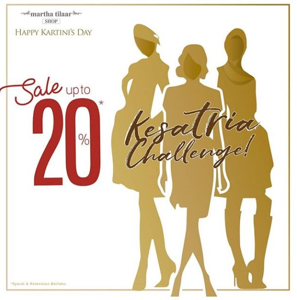 Sale Up to 20% from Martha Tilaar