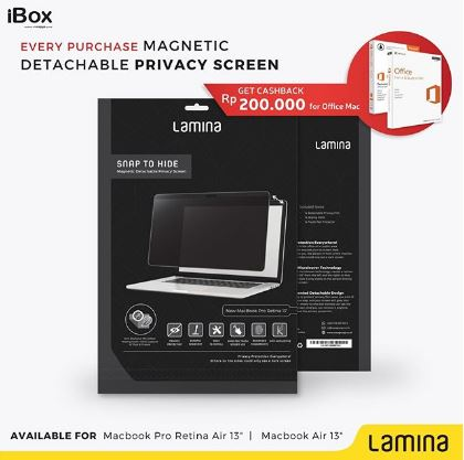 discountRp 200.000 Office Mac Lamina  from iBox