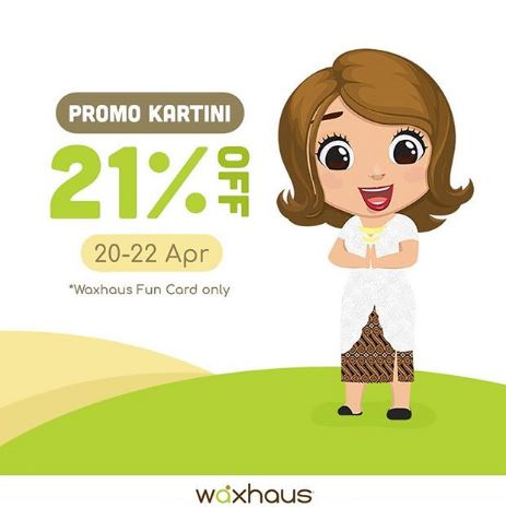 Discount  21% from Waxhaus