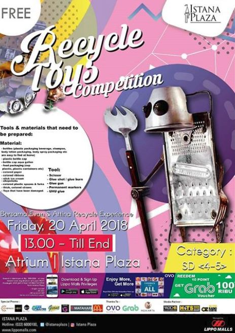 Recycle Toys Competition at Istana Plaza