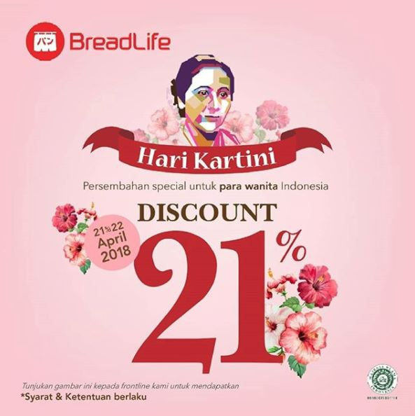 Discount 21 from BreadLife