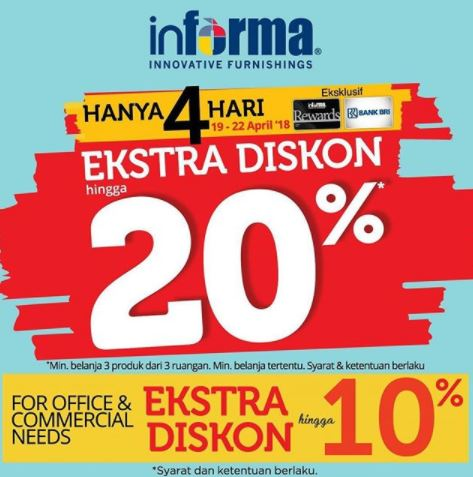 Extra Discount 20% from Informa