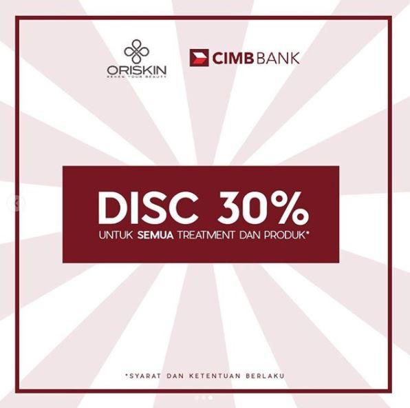 Discount 30% from Oriskin