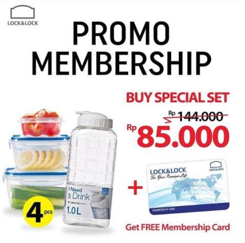 Membership Promo from Lock & Lock