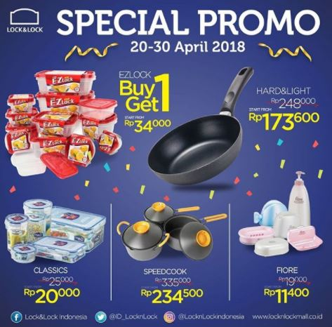 Special Promo from Lock & Lock