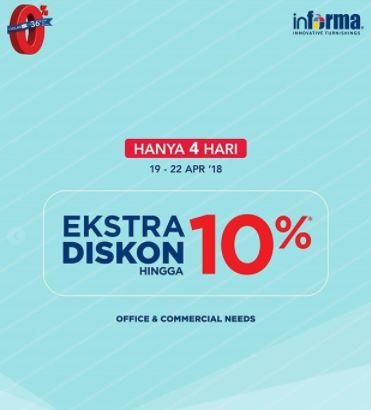 Extra Discount 10%  from Informa
