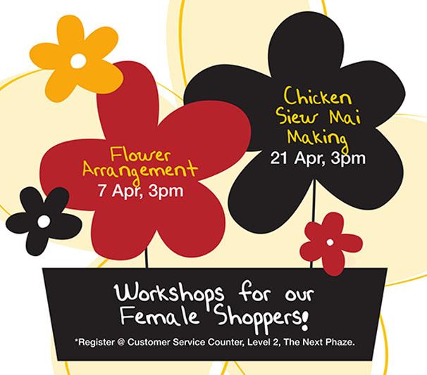 Chicken Siew Mai Making Workshop at Heartland Mall
