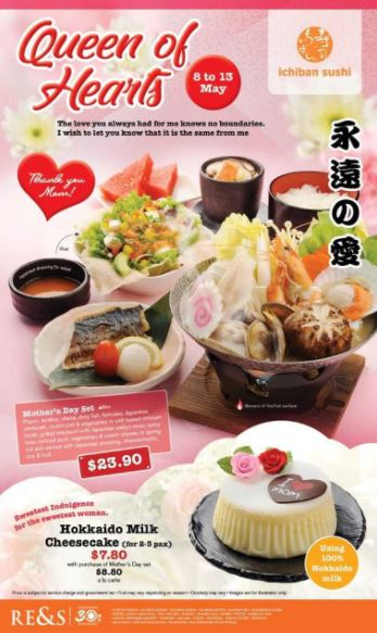 Special Price $23.90 at Ichiban Sushi