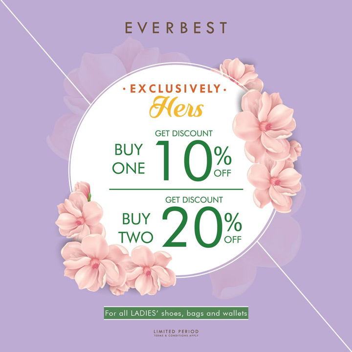 Discount Up to 20% from Everbest